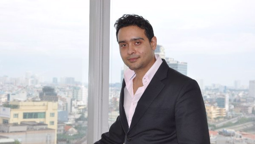 Anirban Lahiri, Head of Research at VNDirect Securities Corp CC/Sokunthea Chor