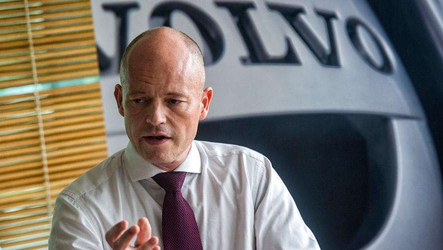 Volvo President Mats Nilsson Supplied